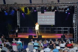 Meezingshow met Hans Albers